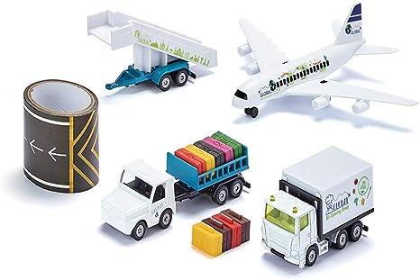 5402 siku World avión comercial con accesorios