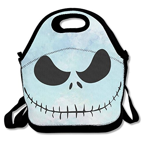 Nightmare Before Christmas Jack Skellington Lunch Bag, Meal Bag, Tote Bag, Lunch Container For Travel Camping Work School]()