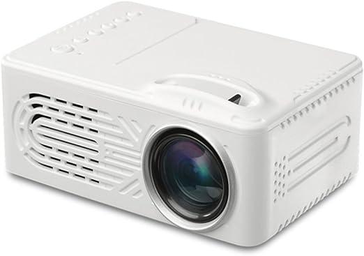 Mini Proyector LED Proyector de Video LCD Portátil 6000 Lúmenes ...