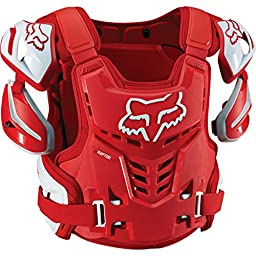 Fox Racing Adult Raptor CE Protector (S/M, Red)