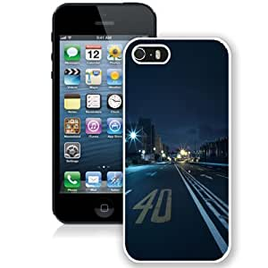 Personalized Phone Case Design with Japan Tokyo Street Racing Night iPhone 5s Wallpaper in White