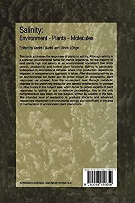 Salinity: Environment — Plants — Molecules: Environment, Plants, Molecules