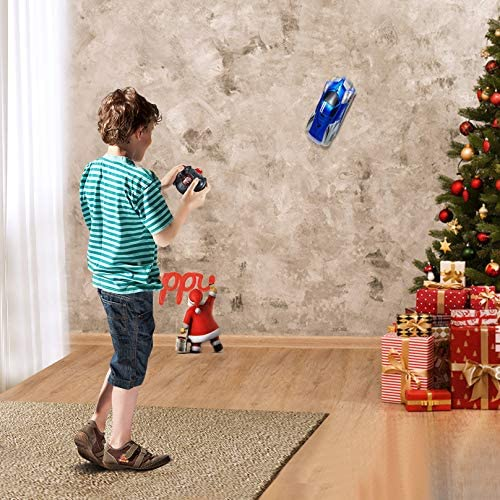 Remote Control Car, Rc Climbing Car Toys Dual Mode 360°Rotating Gravity Defying Rc Car Rechargeable Toy Cars for Wall with Led Lights Birthday & Christmas Gifts for three 4 5 6 7 8-16 Years Old