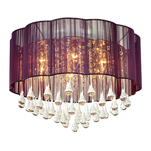 Living Flower Ball Pendant Light Shade Clear in US - 2