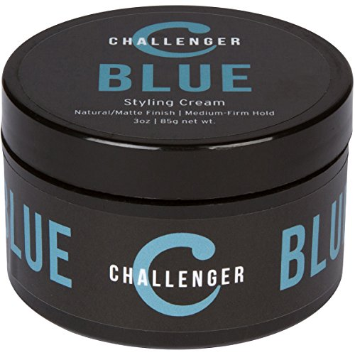 Matte Styling Cream - Medium-Firm Hold 3OZ - Challenger Blue