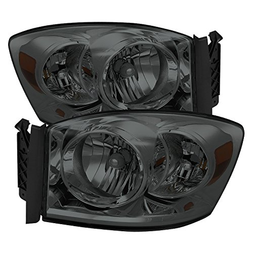 08 dodge ram smoked headlights - 6