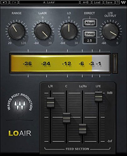 Waves LoAir Native - Subharmonic Synthesizer - Software by Waves