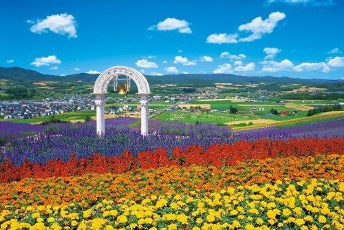 barato 2542-pieza de rompecabezas del del del maestro súperior EX jardin de flores de Furano - Hokkaido súper pequeño Unidad (50x75cm)  edición limitada en caliente
