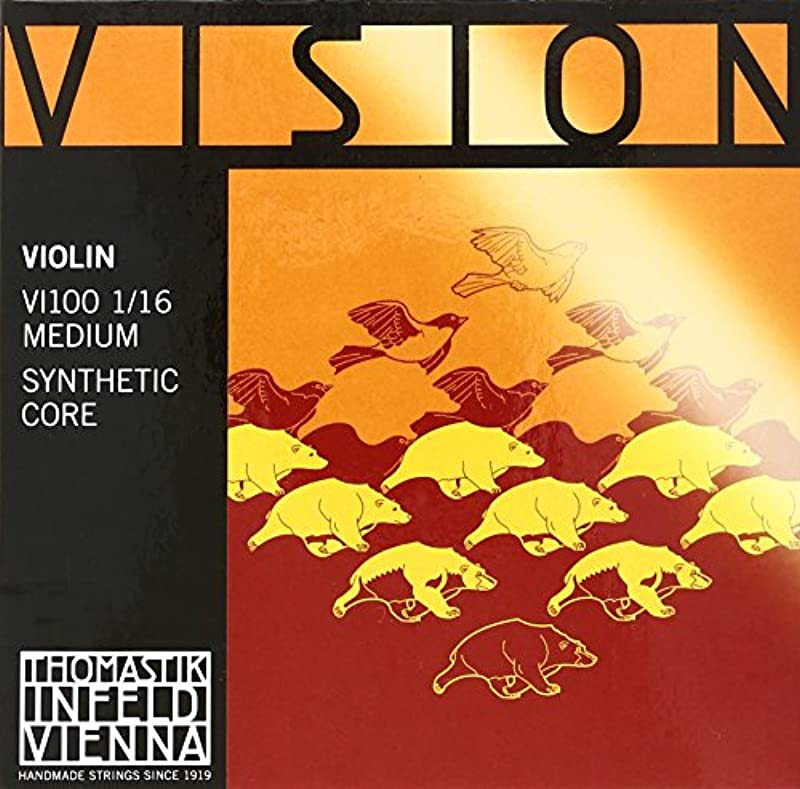 Vision VISION 바이올린현 세트 VI100 1/10 튜너 세트
