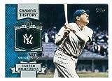 Babe Ruth baseball card (New York Yankees) 2013 Topps Chasing History #CH- 11
