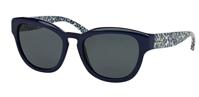 ef476b1a6330c Tory Burch Womens Sunglasses (TY9040) Blue Grey Plastic - Non-Polarized -