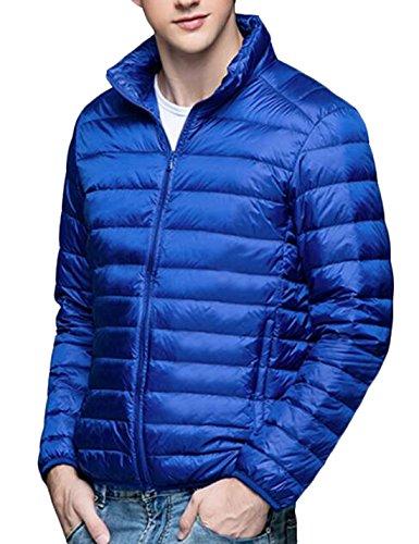 Packable Cappotto Grosso Ci Piumino Degli Puffer Grande Uomini Blu Reale Eku E 3xl EwqSxXB4