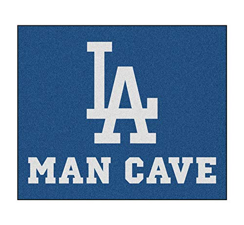 Fanmats 22425 Mlb-Los Angeles Dodgers Man Cave Tailgater Rug