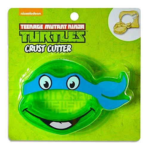 1 X Teenage Mutant Ninja Turtles TMNT Sandwich Crust Cutter Decruster for School Lunch]()