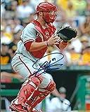 Autographed Cameron Rupp 8x10 Philadelphia Phillies Photo