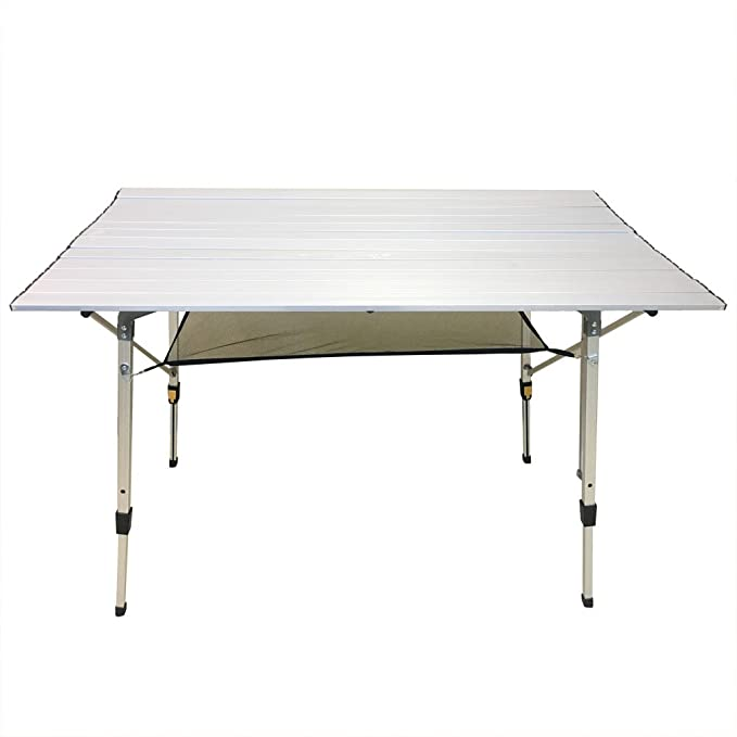 Amazon.com: CampLand Aluminum Height Adjustable Folding ...