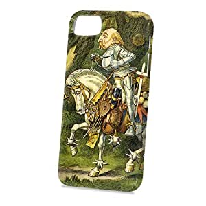 Case Fun Apple iPhone 5 / 5S Case - Vogue Version - 3D Full Wrap - Alice in Wonderland The Knight