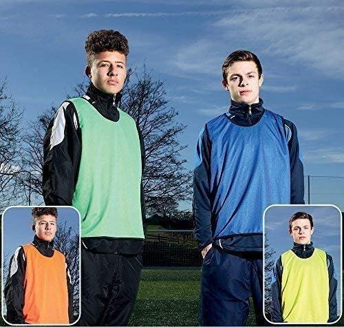 Precision Football Sports Teamwear Vest Soccer Training Reversible Mesh Bibs