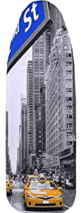 Bügelbrettbezug 100% Baumwolle (New York, 148 x 52 cm)