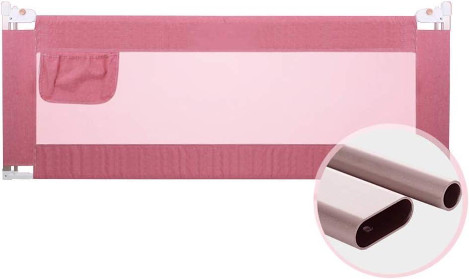 Barandillas Barra Protectora de aleación de Aluminio Riel de Cama para bebé Seguridad para bebés Elevación Vertical Seguridad para niños pequeños Riel de protección Alto para Cama con Altura 67~90