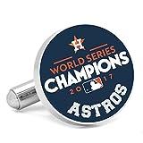 Houston Astros 2017 World Series Champions Navy Cufflinks