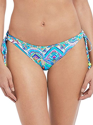 Freya New Native Rio Side Tie Bikini Bottom, S, Native Print