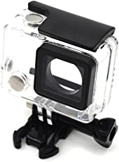 ocamo buceo transparente impermeable seguro Carcasa para GoPro Hero 4/3+/3Accesorios de la cámara