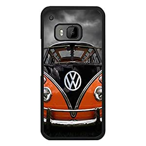 Htc One M9 Retro Style VW Camper Van Phone Case Protective Back Skin Cover for Htc One M9 Fashion VW Camper Van Collection Shell Cover