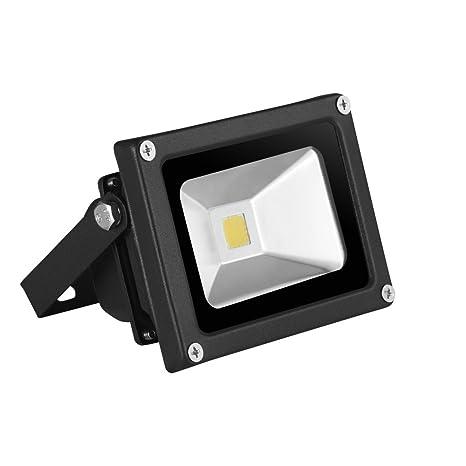 10W 20W 30W 12V Foco LED Proyector de Luz Lámpara IP65 Impermeable Iluminación de bajo voltaje, Bajo Consumo de Energía (10W-blanco cálido)