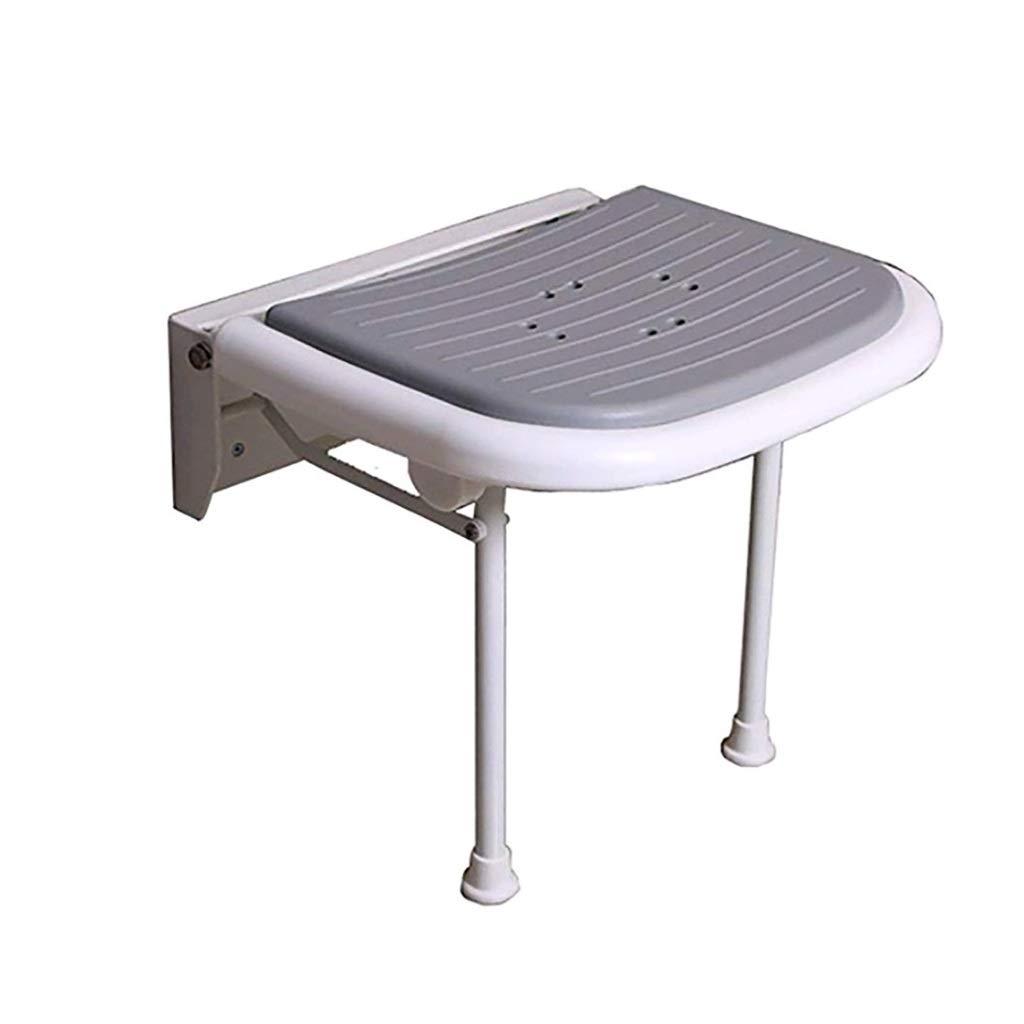 折りたたみ式シャワー/バススツール高齢者のためのアルミ合金のアンチスリップ調整可能な高さ障害者妊婦   B07KXF27NZ