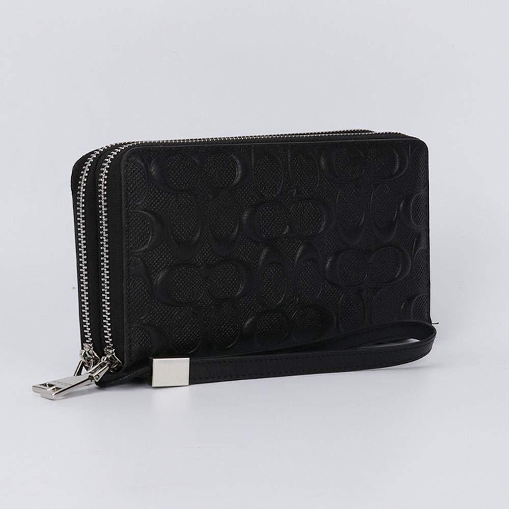 QJXSAN Mode Herren Leder Brieftasche geprägt Lange Lange Lange Herren Geldbörse Leder Kupplung B07H3X3TJF Geldbrsen e416b5