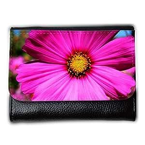 le portefeuille de grands luxe femmes avec beaucoup de compartiments // M00290646 Cosmea Planta Ornamental Cosmos // Medium Size Wallet