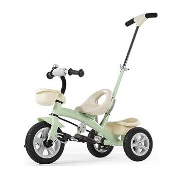 GIFT Bicicleta De 3 Ruedas para Niños con Triciclo Extraíble, Triciclo Extraíble, Asiento Ajustable