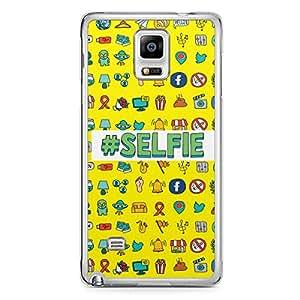 Selfie Samsung Note 4 Transparent Edge Case - Selfie Queen