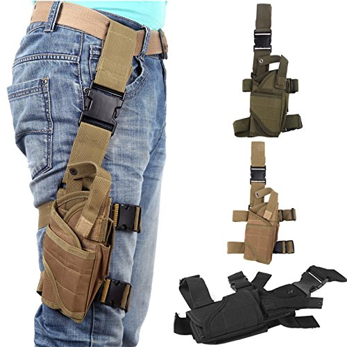 Signature@ Hunt Accessory Leg Bag Outdoor Hunting Tactical Puttee Thigh Leg Pistol Huntinggun Storage Holster Pouch 4 Colors Options