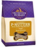 Old Mother Hubbard Classic Crunchy Natural Dog Treats, P-Nuttier Large Biscuits, 3.3-Pound Bag by Old Mother Hubbard