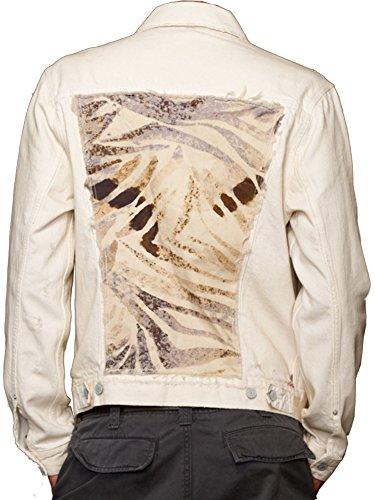 Ralph Lauren Denim & Supply Mens Jacket (Medium, Off White)