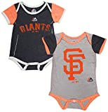 Majestic San Francisco Giants Baby/Infant 2 Piece Creeper Set