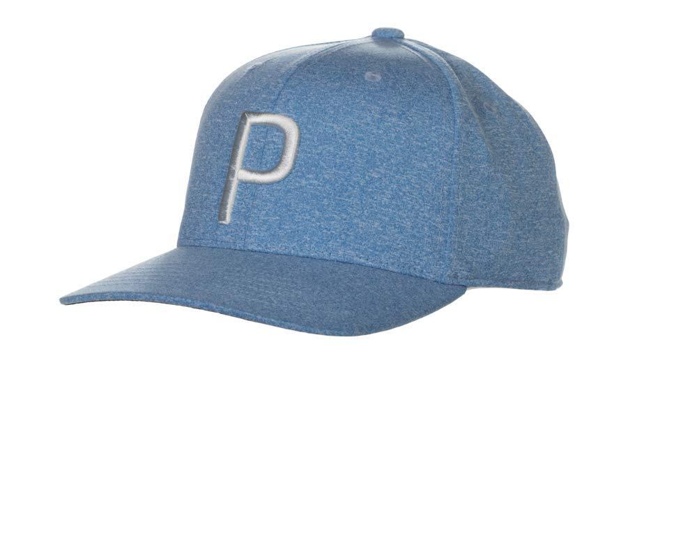 Puma Golf 2018 ''P'' Snapback Hat (One Size), Azure Blue