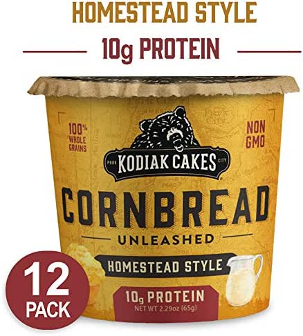 Breakfast Pastries: Kodiak Cakes Cornbread Cup