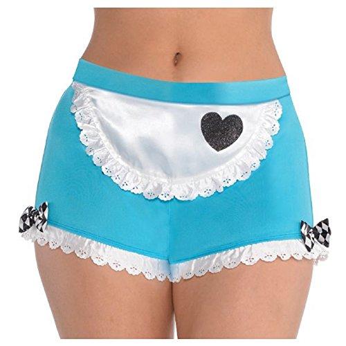 Womens Ladies Wonderland Alice Boyshorts Fancy Dress Accessory ()