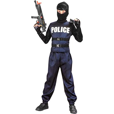 Child's Swat Team Costume, Size Youth Medium 8-10: Toys & Games