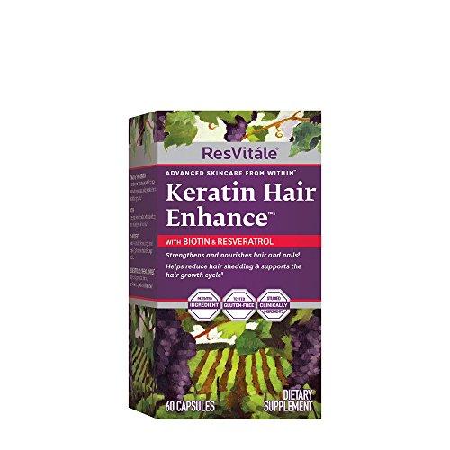 (ResVitle Keratin Hair Enhance with Biotin and)