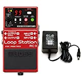 Boss RC-3 Loop Station Stomp Box w/ Power Supply