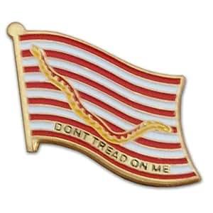 US Flag Store Lapel Pin 1st Navy Jack Flag