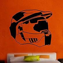 Halo Spartan Trophy Helmet Decal Vinyl Wall Sticker (Ga66)