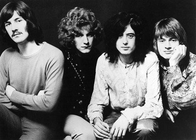 8 x 10 Aluminum Tin Sign Led Zeppelin Early Days A mostly Art Stuff Product (Early Days The Best Of Led Zeppelin)