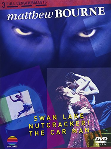 Ballet - Matthew Bourne: Swan Lake, Nutcracker, The Car Man (3DVDS) [Japan DVD] WPBS-91006 (Swan Lake Bourne)