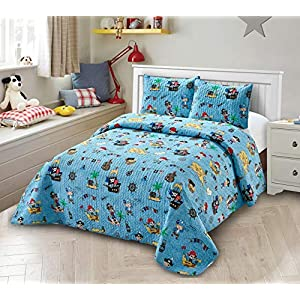 51aD1%2BuF3rL._SS300_ Pirate Bedding Sets and Pirate Comforter Sets