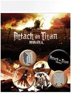 GB Eye LTD, Attack On Titan, Personajes, Pack de Chapas: Amazon.es: Hogar